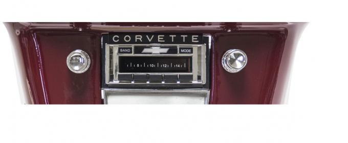 Custom Autosound 1958-1962 Chevrolet Corvette USA-630 Radio