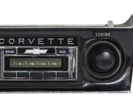 Custom Autosound 1968-1976 Chevrolet Corvette USA-230 Radio