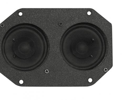 Custom Autosound 1969-1984 Ford Mustang Dual Speakers