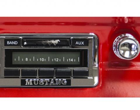 Custom Autosound 1964-1966 Ford Mustang USA-230 Radio