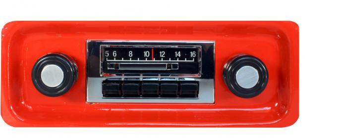 Custom Autosound 1967-1972 GMC Truck/Jimmy Slidebar Radio