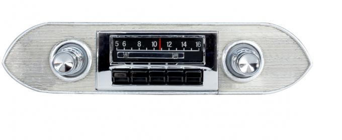 Custom Autosound 1962-1965 Chevrolet Nova Slidebar Radio