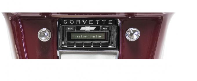 Custom Autosound 1958-1962 Chevrolet Corvette USA-230 Radio